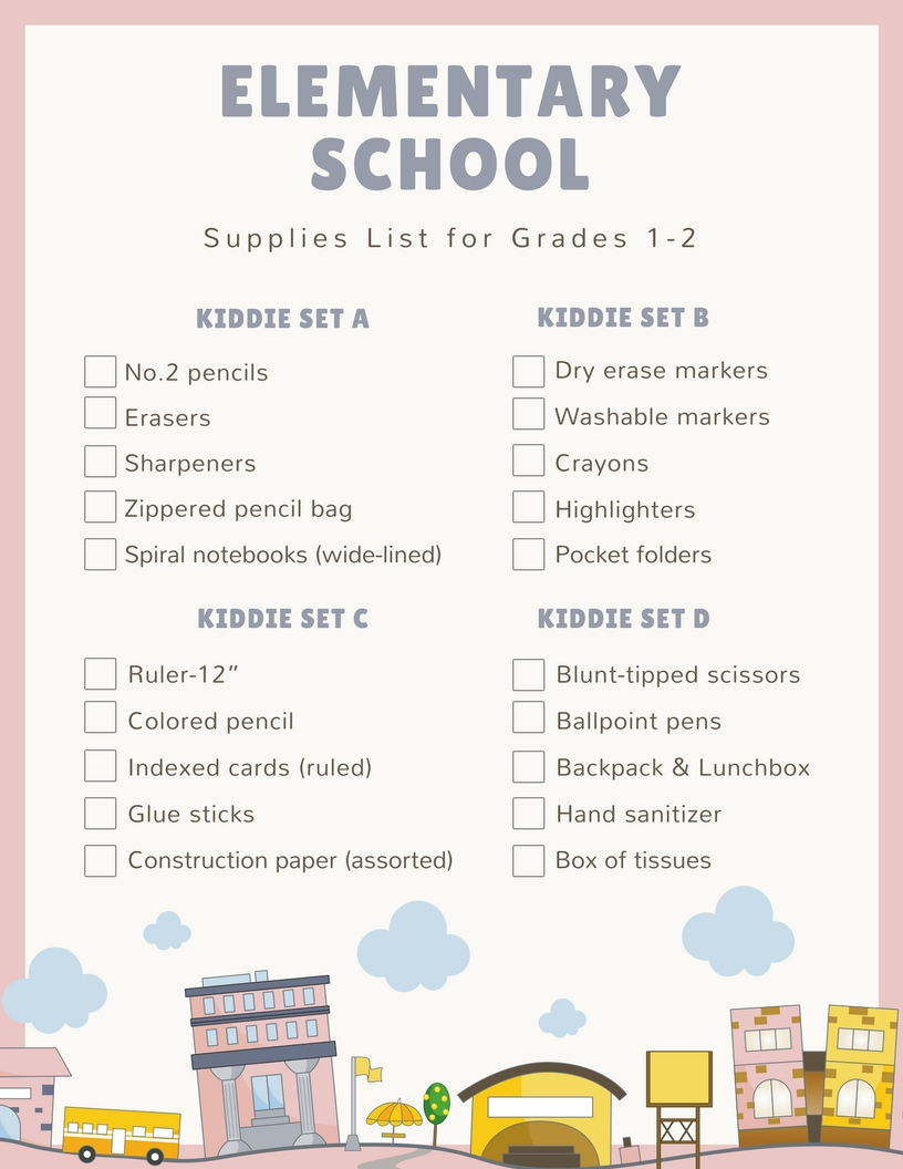Elementary-Grades-1-2-School-Supplies-List-2018-2019