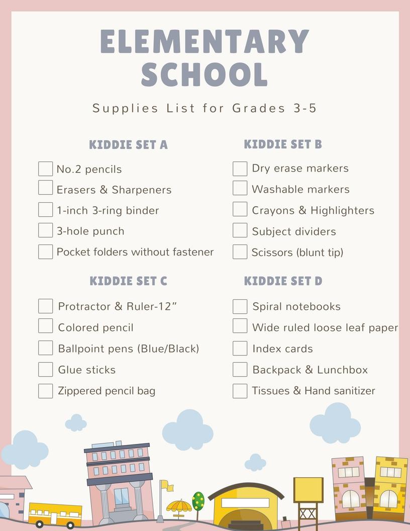 School supplies coupons 2019