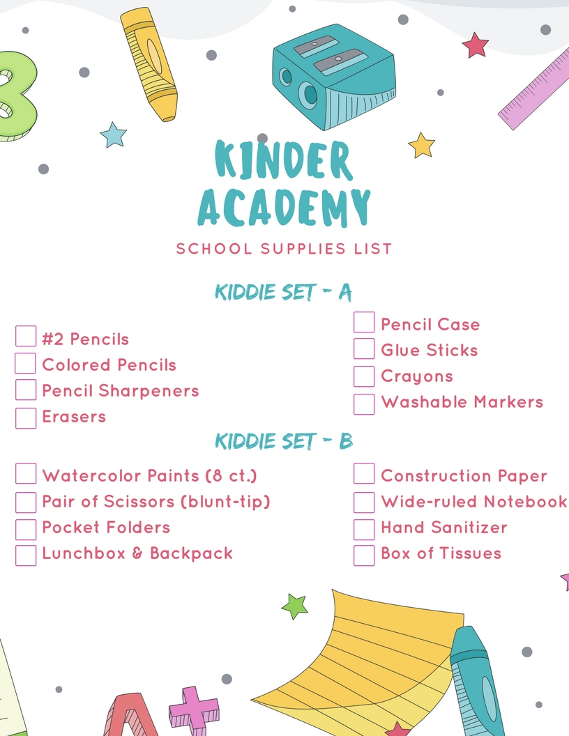 Kindergarten-School-Supplies-List-2018-2019