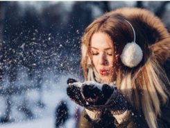 girl-enjoying-snowfall