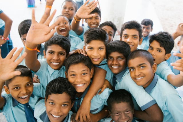 school-children-in-india