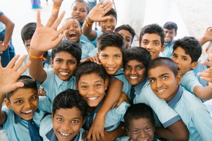school-children-in-india